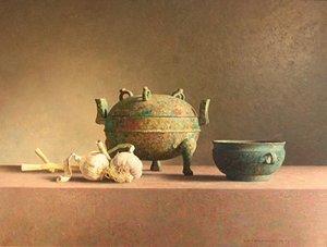 Chinees brons en knoflook