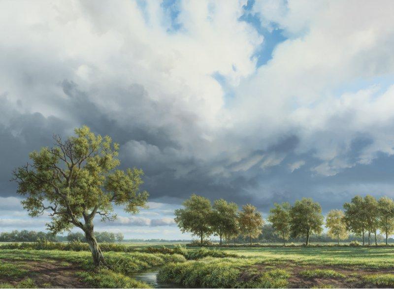 Stroomdallandschap