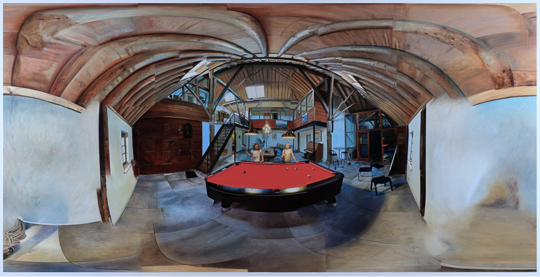 Univeral VR Painting Project #2: Snooker Players
