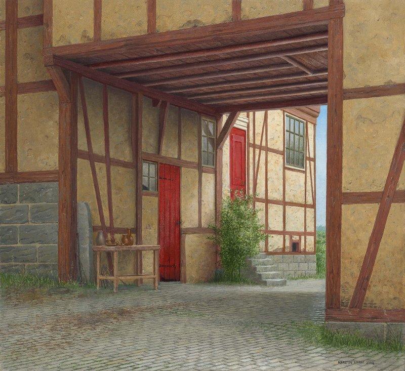Voormalig kloosterhof in Mandern