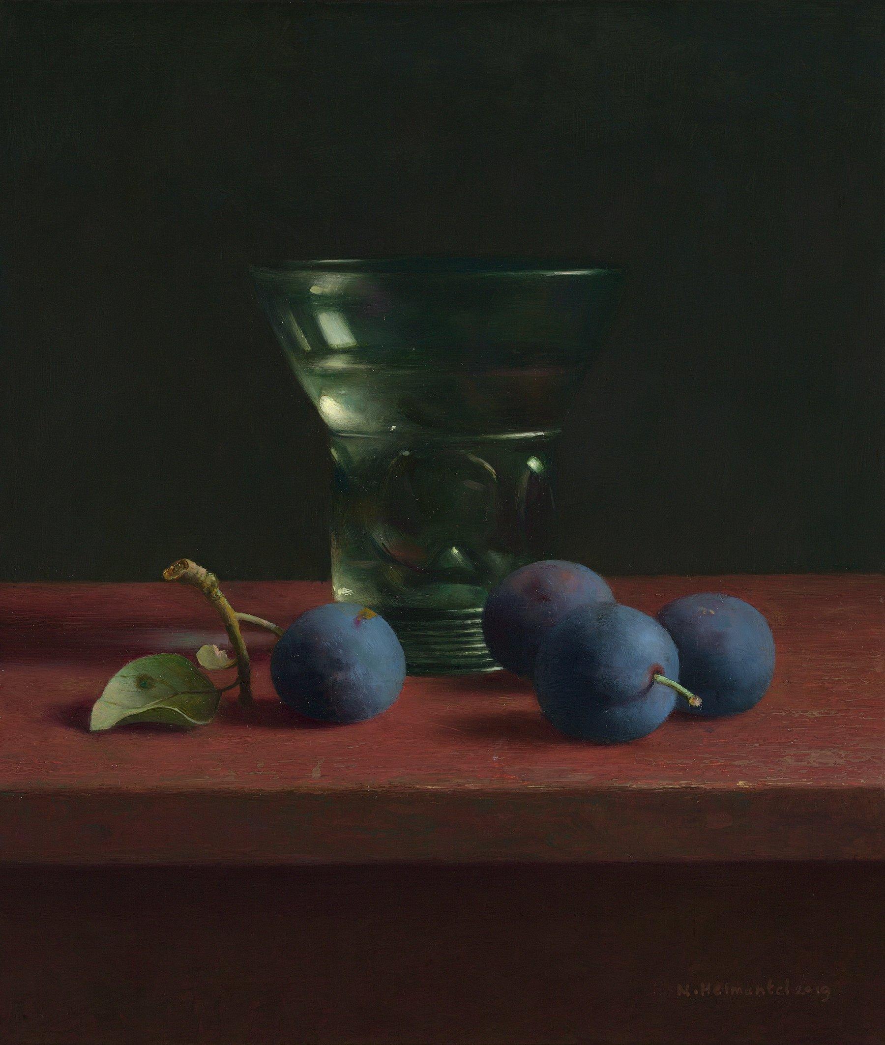 Berkemeijer en blauwe pruimen