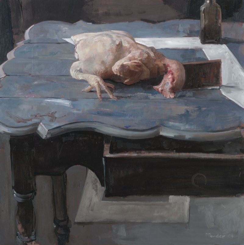 Geslachte kip