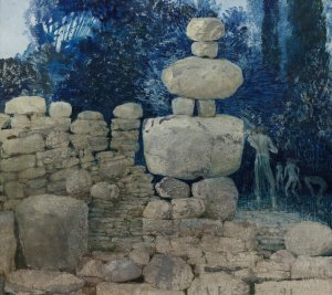 Gestapelde muur