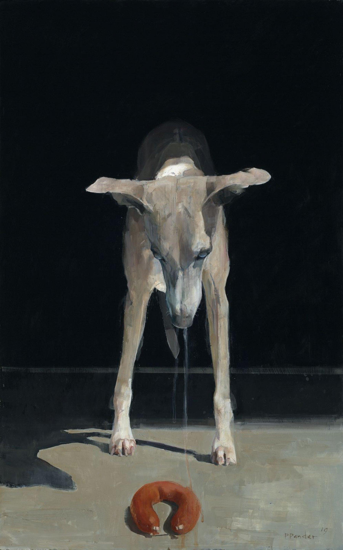 Kwijlend hondje