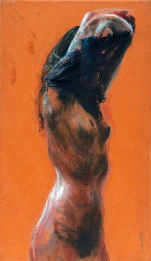Naakt (oranje)