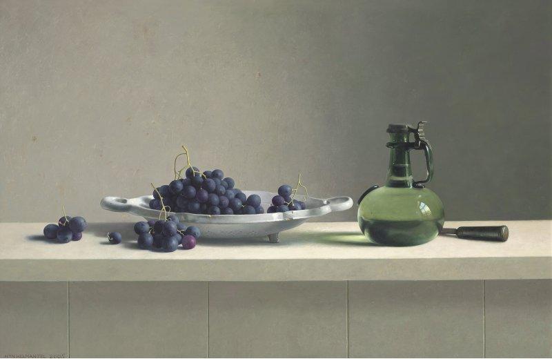 Stilleven met druiven