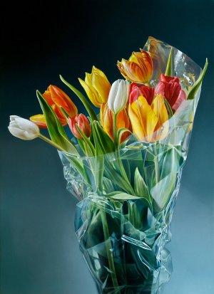 Tulpen in plastic II